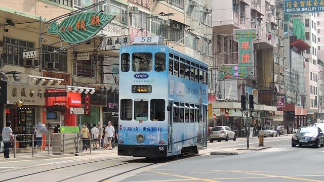 Hongkong tramvaj