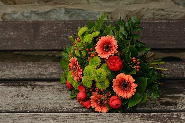 podzimní kytka